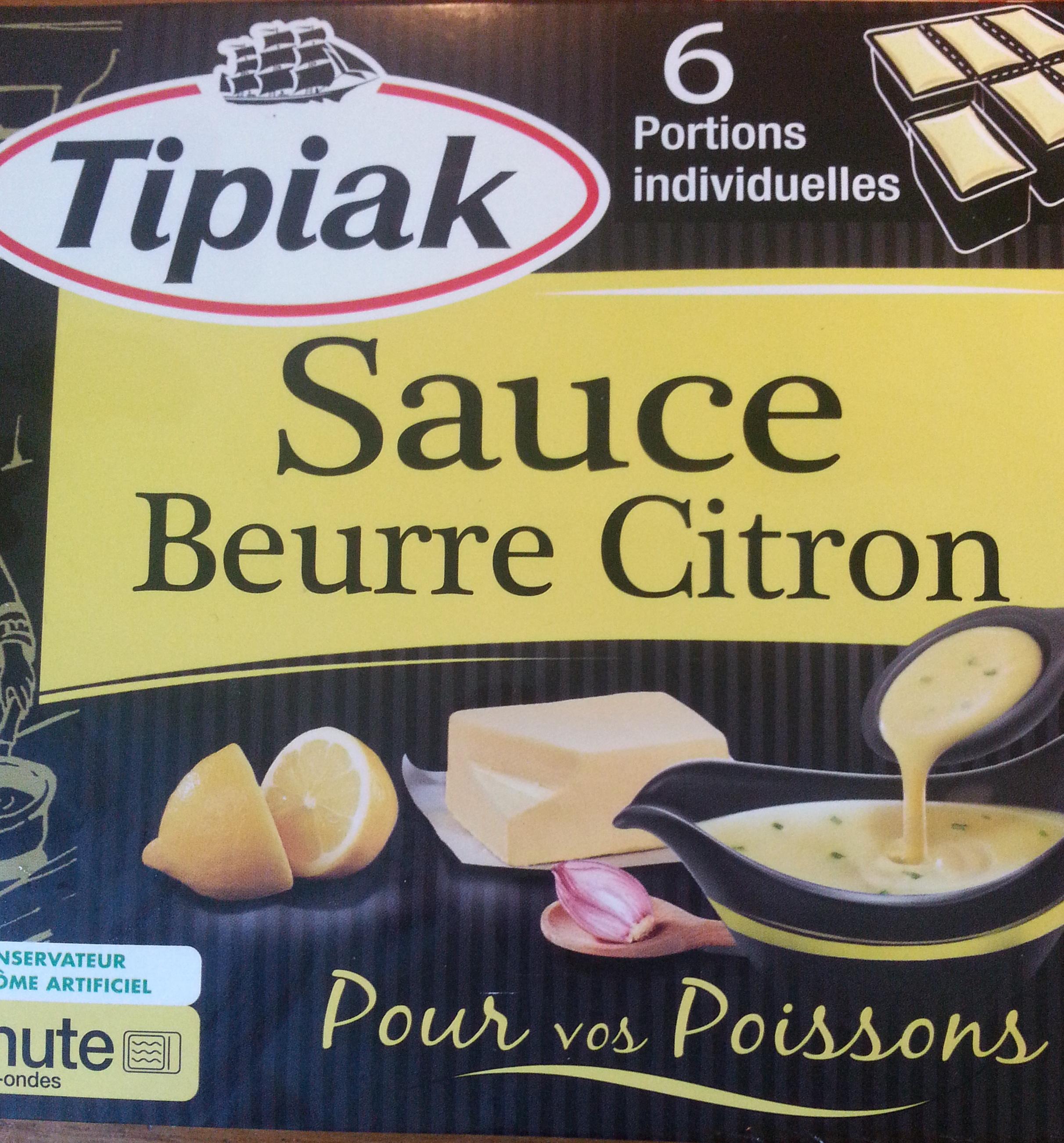 Sauce Beurre Citron (6 Portions individuelles) - Produit - fr