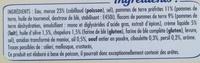 Brandade de Morue Parmentier à l'huile d'olive et aux fines herbes - Ingrédients - fr