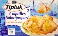 2 Coquilles Saint-Jacques* à la Bretonne, Surgelées - Produit