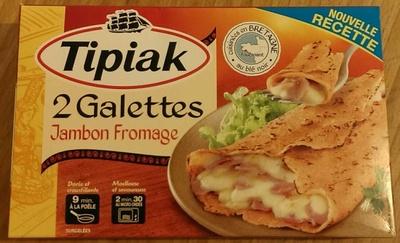 2 Galettes Jambon Fromage - nouvelle recette - Produit - fr