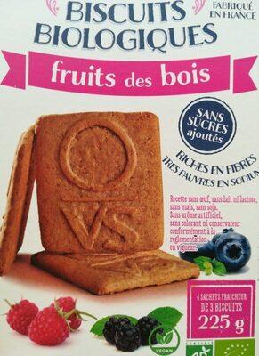 Biscuits Fruits des bois ss sucre/sel bio 225g - Product