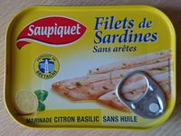 Filets de sardines sans arêtes - Product