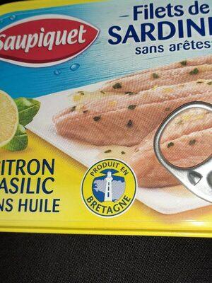 Filets de sardines sans arrêtes - Produit - fr