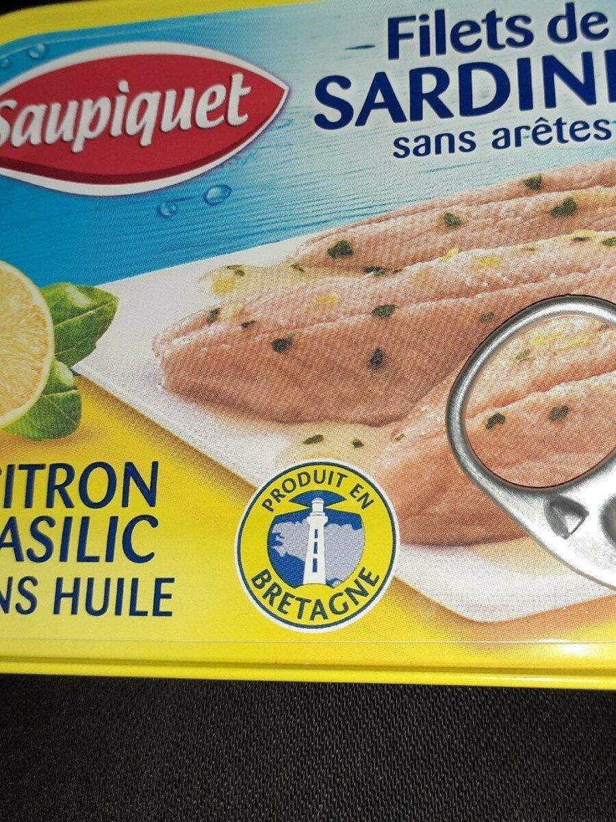 Filets de sardines sans arêtes - Product - fr