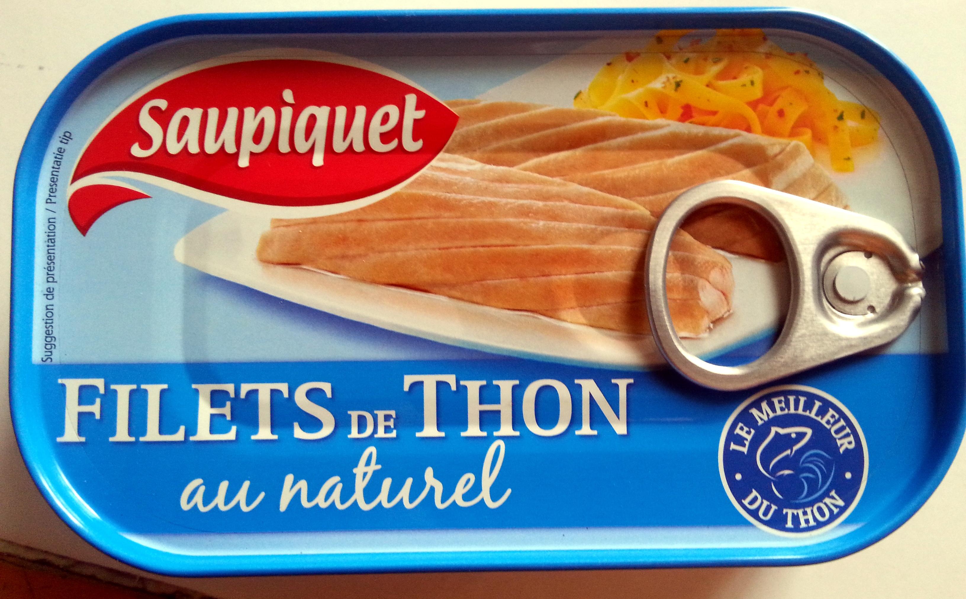 filets de thon au naturel - Product - fr