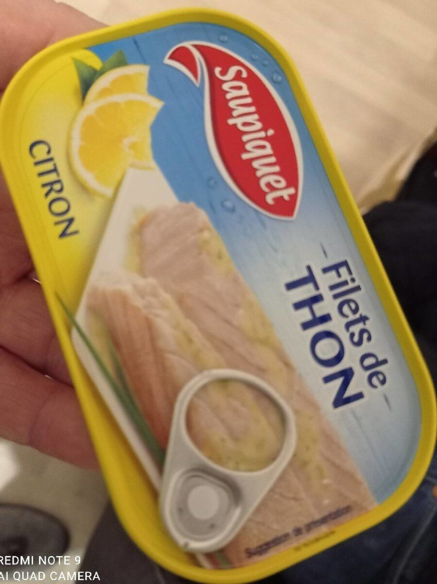 Filet de thon citron - Prodotto - fr