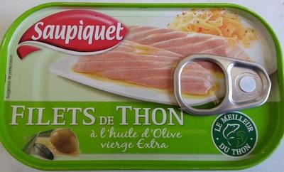 Filets de Thon à l'huile d'Olive vierge Extra - Product