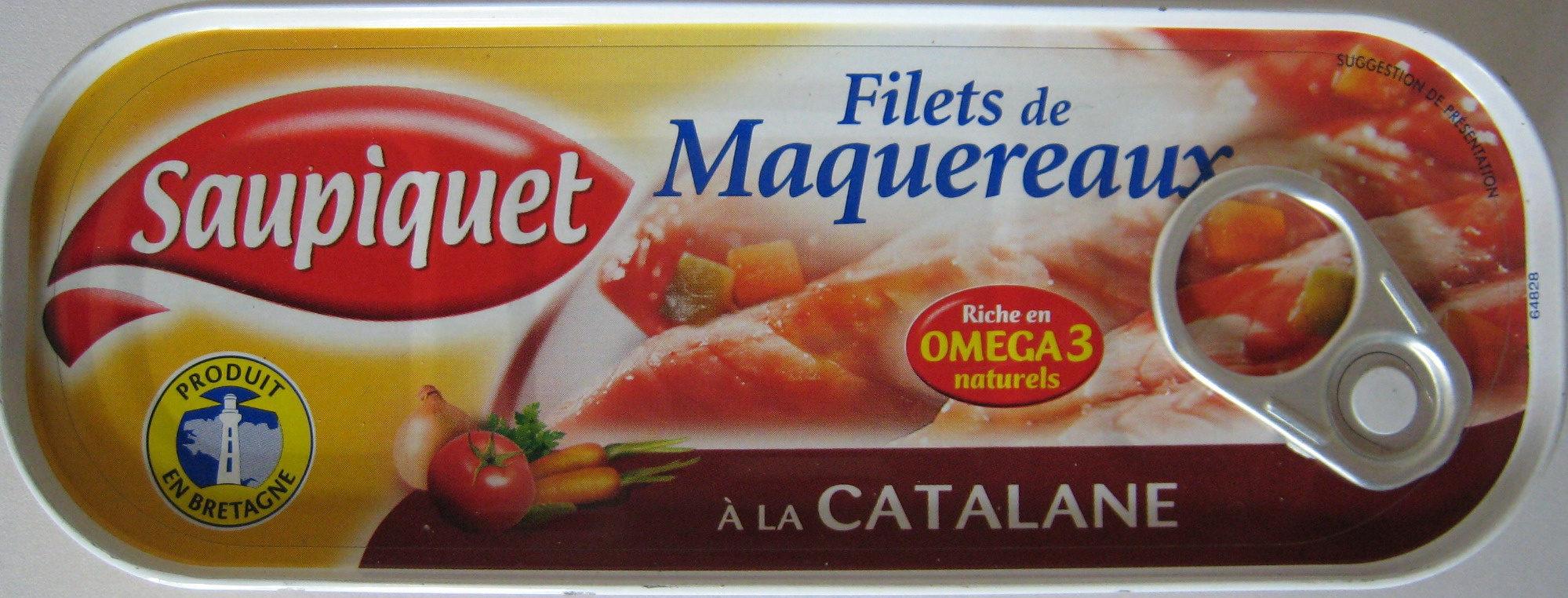 Filets de maquereaux à la sauce catalane - Product - fr