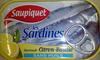 Les sardines marinade citron-basilic sans huile - Produit
