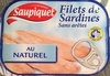 Filets de sardines sans arêtes au naturel - Product