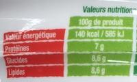 Les Saladières Pleine Saveur Riz, thon, tomates cerises et olives noires - Informations nutritionnelles - fr