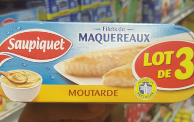 Filets de maquereaux à la moutarde Saupiquet - Product
