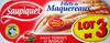 Filets de Maquereaux (Sauce Tomate et Basilic) Lot de 3 - Produit