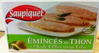 Emincés de filet de thon à l'huile d'olive extra vierge - Produit