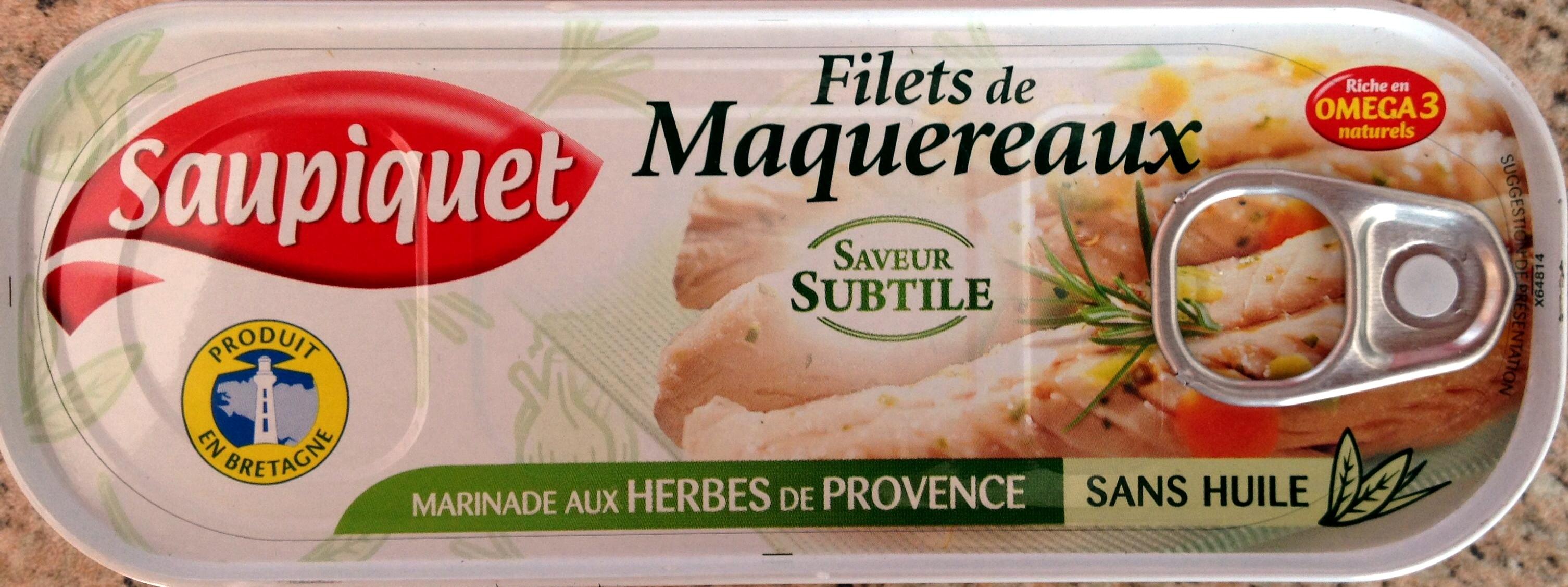 Filets de Maquereaux (Marinade aux Herbes de Provence) - Product