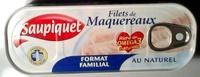 Filets de Maquereaux (Au Naturel) Format Familial - Product - fr