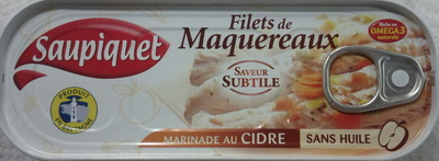 Filets de Maquereaux (Marinade au Cidre) - Produit
