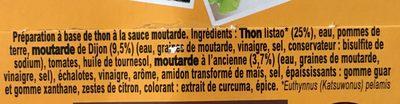 Thon sauce moutarde - 原材料 - fr