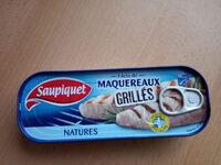 Filets de maquereaux grillés natures - Produit - fr