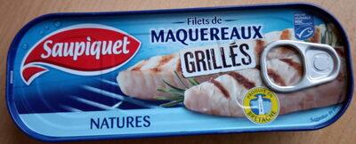 Filets de maquereaux, Grillés, Natures - Product - fr