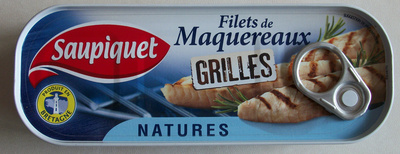 Filets de maquereaux grillés natures - Product