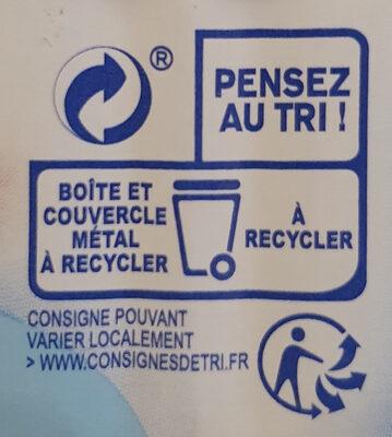 Filets de maquereaux grillés natures - Recyclinginstructies en / of verpakkingsinformatie - fr
