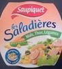 Les Saladières Maïs, Thon, Légumes - Produit
