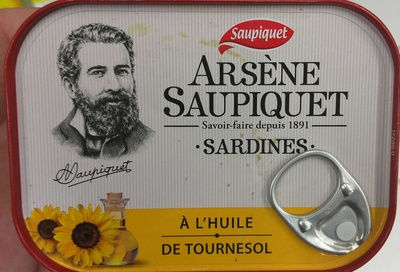 Arsène Saupiquet Sardines - Product - fr