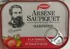 Arsène Saupiquet Sardines à la tomate et huile d'olive - Produit