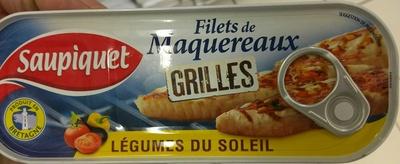 Filets de Maquereaux grillés Légumes du soleil - Product
