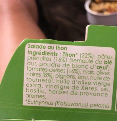 Salade - Ingredients