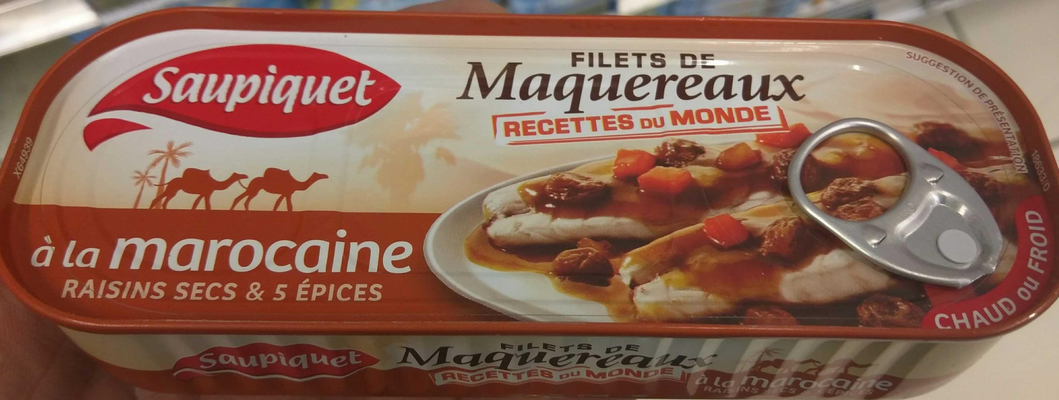 Filets de Maquereaux à la Marocaine - Produit