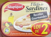 Filets de Sardines - Product - fr