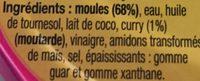 Moules a l'escabèche - Spécial apéro - Ingrédients - fr