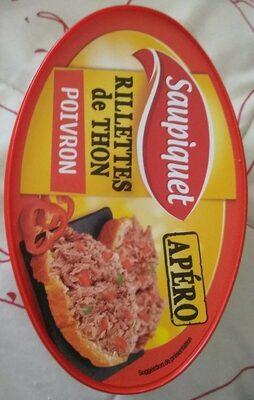 Rillettes de thon poivron - Produit - fr