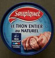 Thon entier au naturel - Product - fr