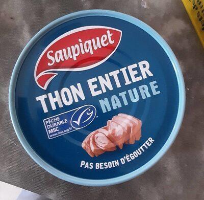 Thon entier nature - Prodotto - fr