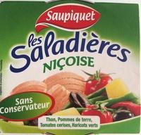 Les Saladières Niçoise - Thon, Pommes de terre, Tomates cerises, Haricots verts - Product - fr