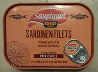 Sardinen-Filets mit Chili - Produit - de