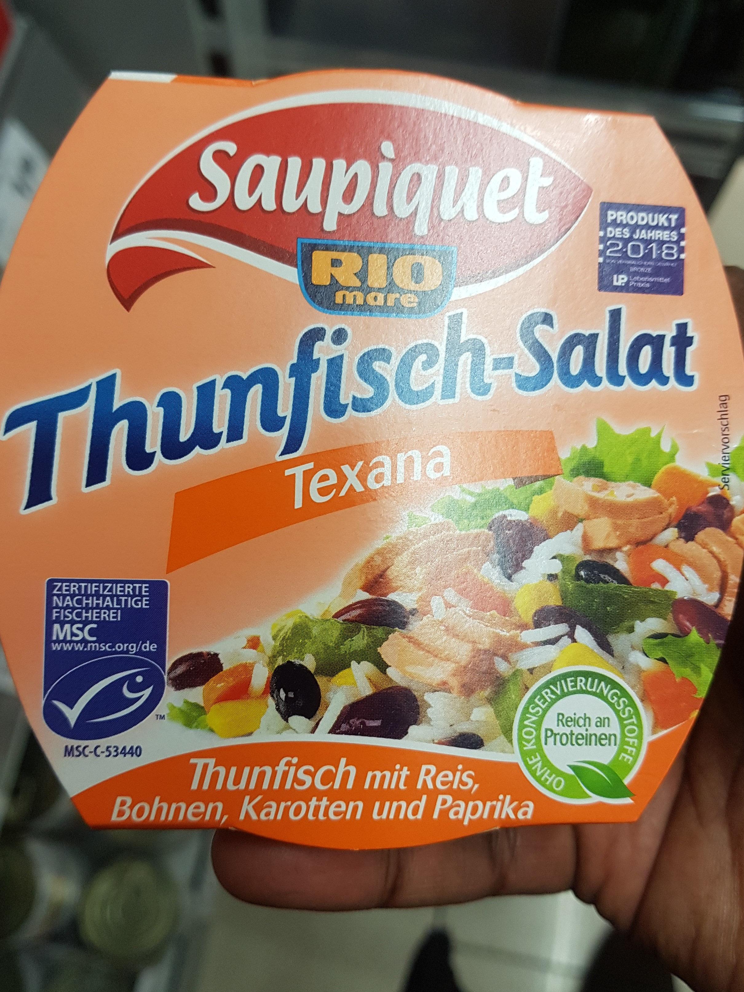 Thunfisch-Salat Texana - Saupiquet - 160 g