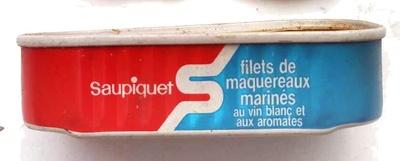 Filets de maquereaux marinés au vin blanc et aux aromates - Product - fr