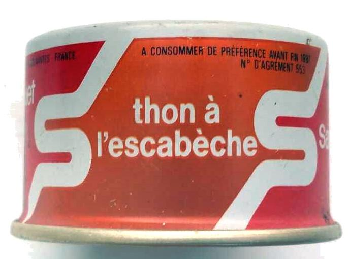 Thon à l'escabèche - Product - fr