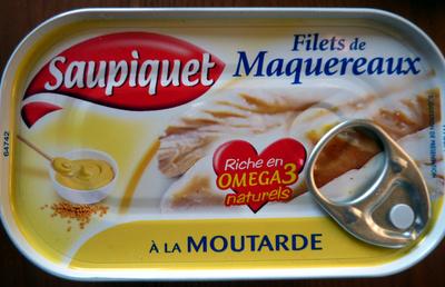 Filets de Maquereaux (À la Moutarde) - Product - fr