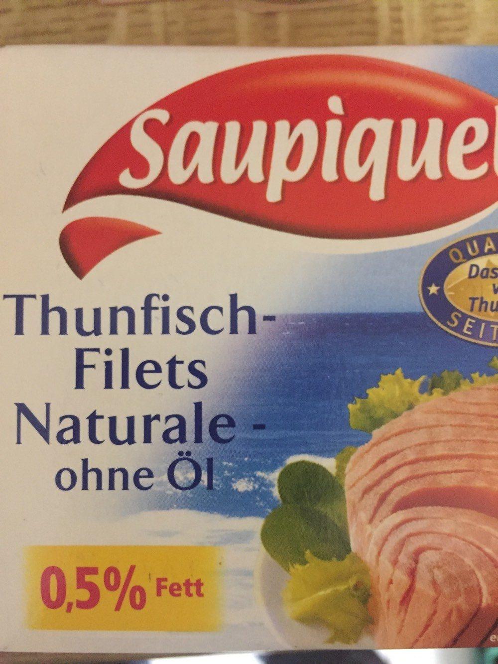 Thunfisch-Filets Naturale, ohne Öl - Produkt - de