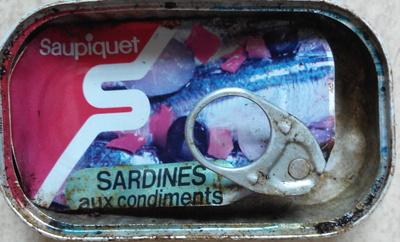 Sardines aux condiments - Product
