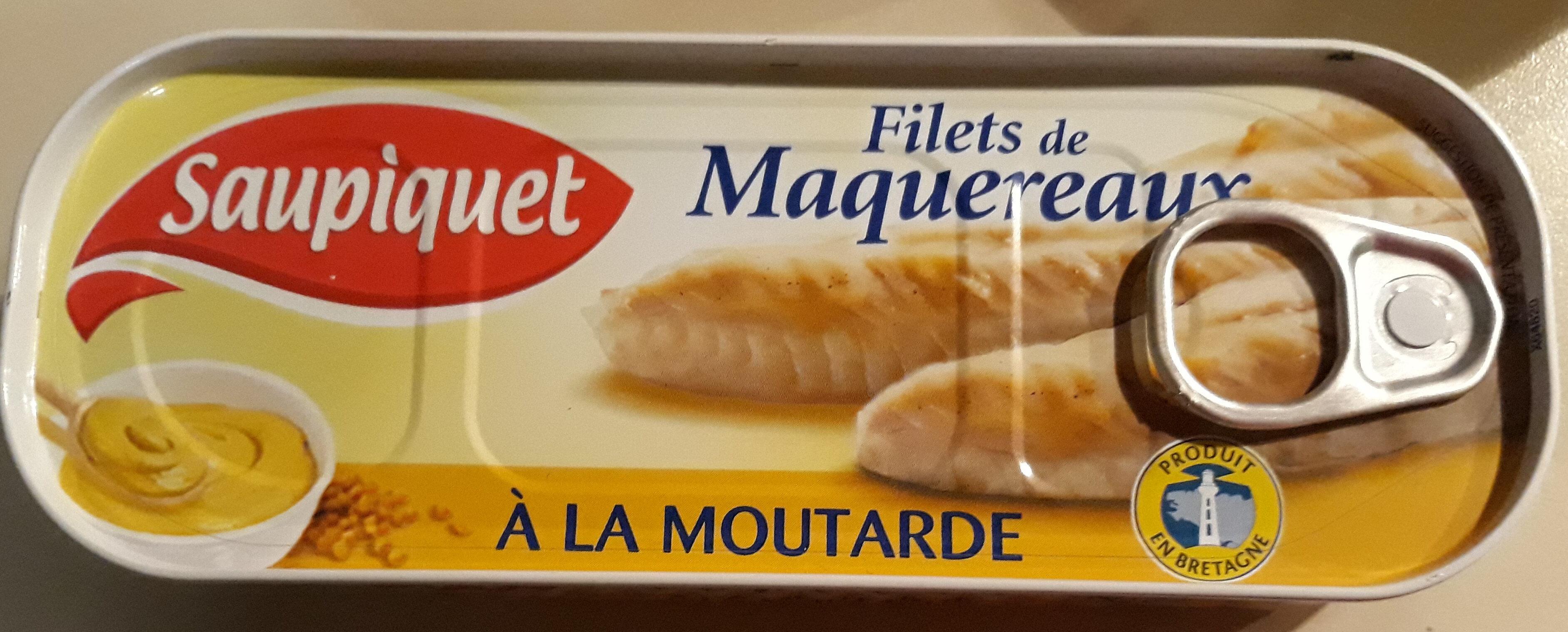 Filets de Maquereaux à la moutarde - Product - fr