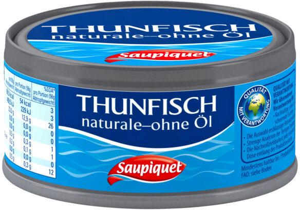 Thunfisch naturale - ohne Öl - Produkt - de