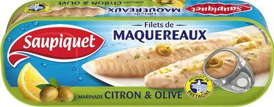 filet de maquereaux citron  olive - Prodotto - fr