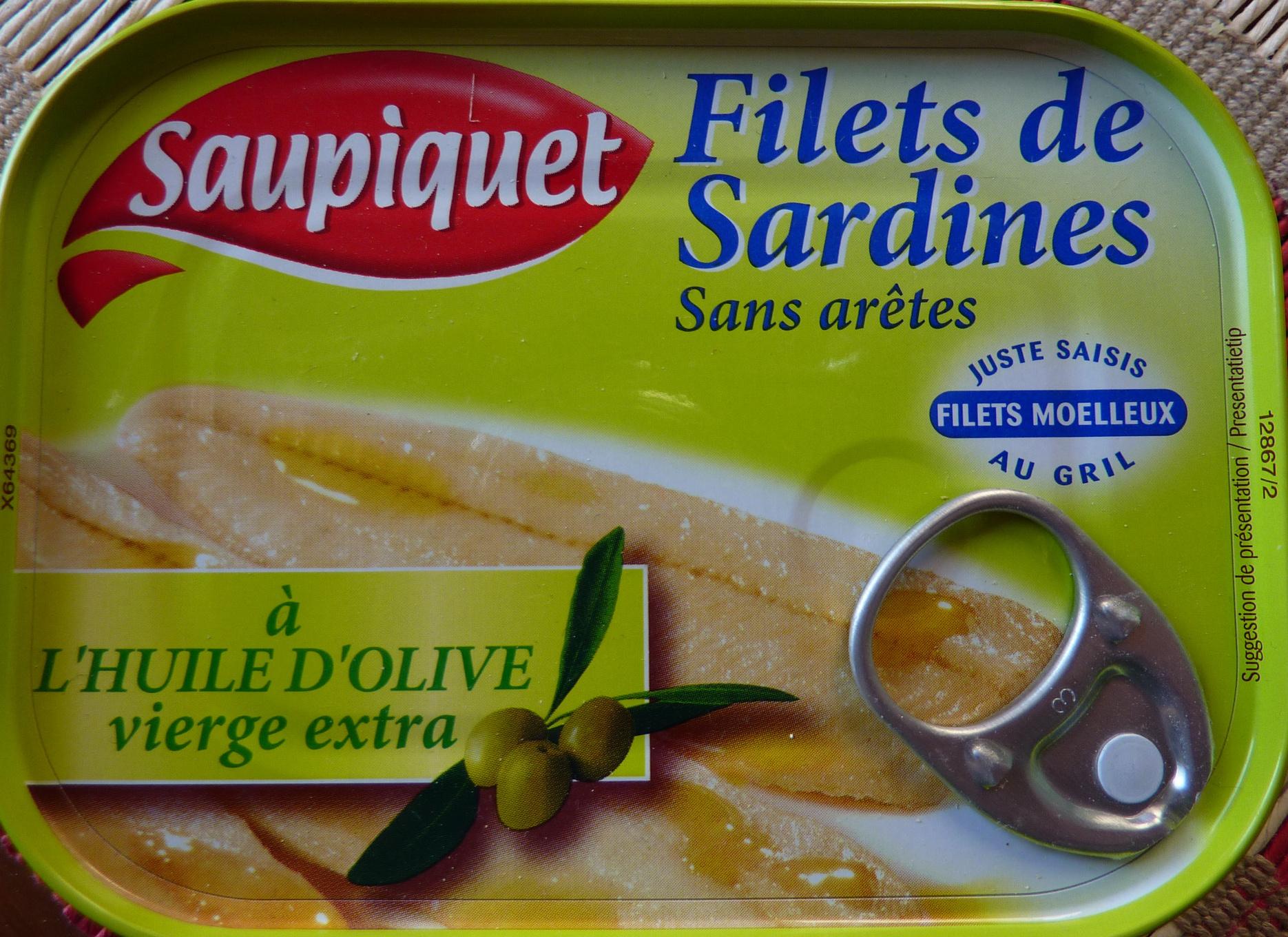 filets de sardine l 39 huile d 39 olive vierge extra. Black Bedroom Furniture Sets. Home Design Ideas