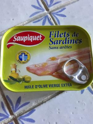 Filet de sardines - Produit